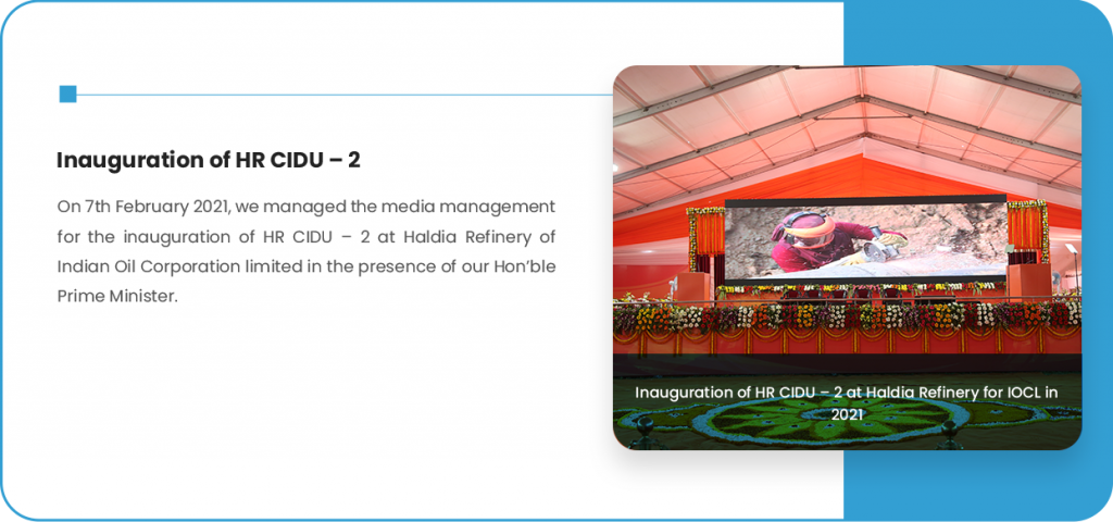 Inauguration of HR CIDU – 2
