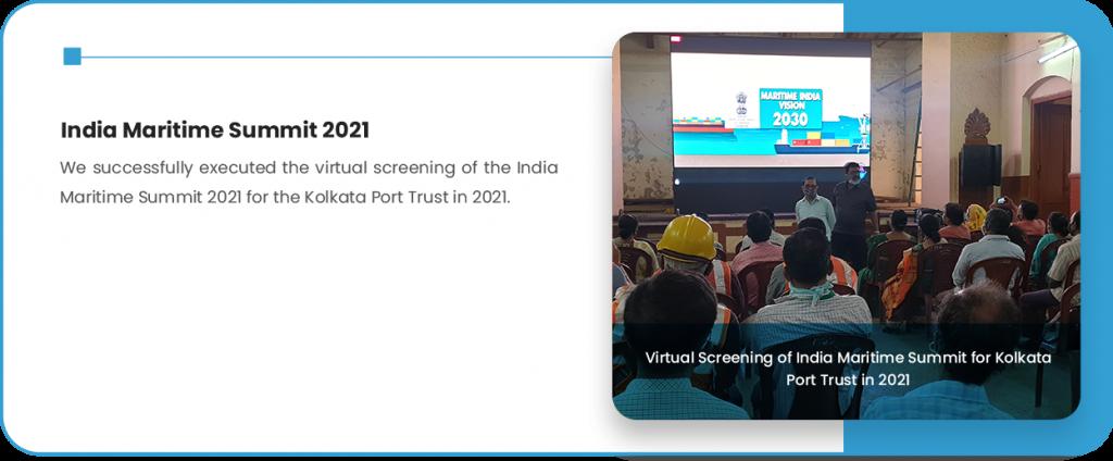 India Maritime Summit 2021