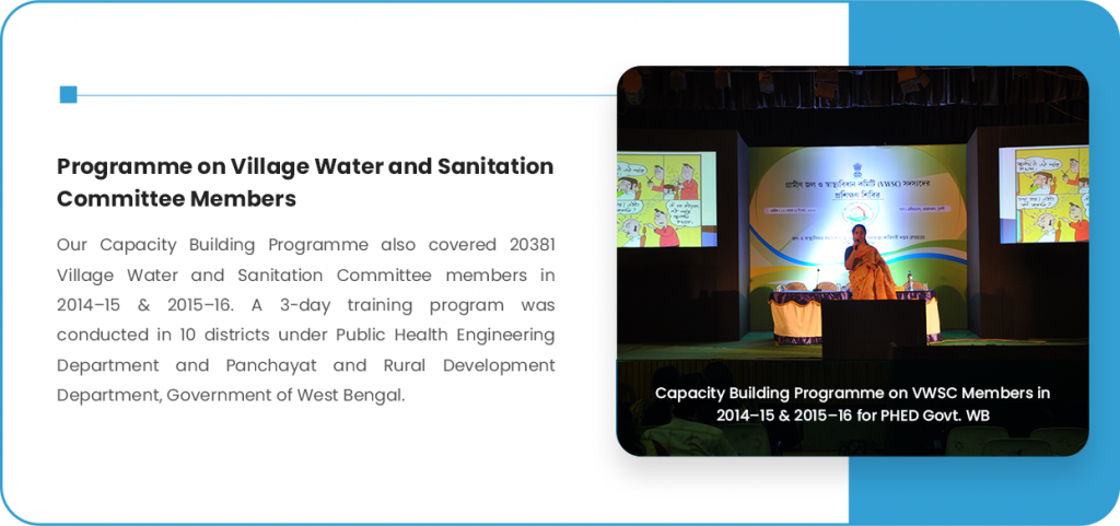 Programme on Village Water and Sanitation Committee Members