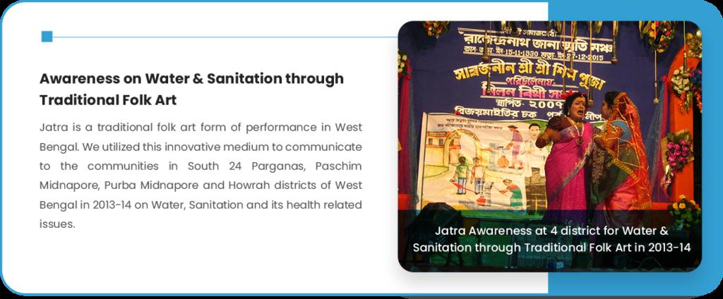 Awareness on Water & Sanitation through Traditional Folk Art (4)