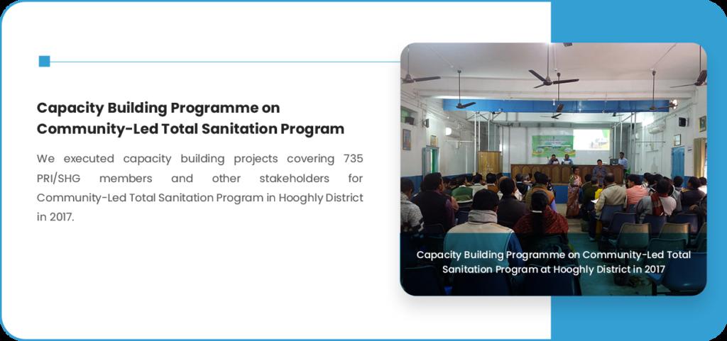 Programme on Community-Led Total Sanitation Program