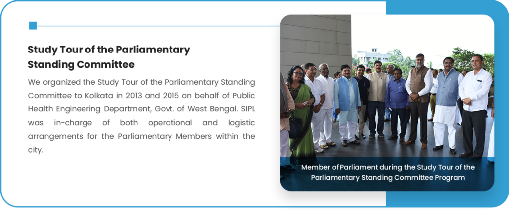 Study Tour of the Parliamentary Standing Committee